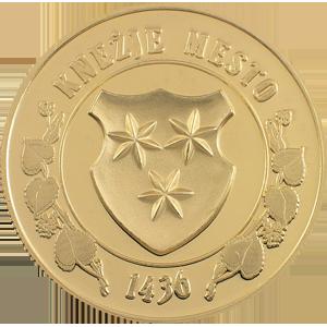Knežje mesto - zlatnik, teža 20g, čistina 900/1000