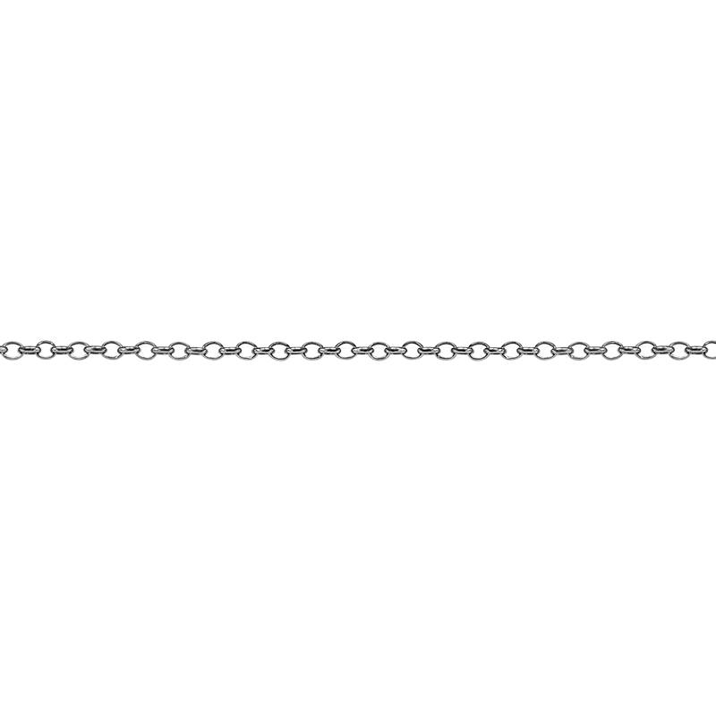 Necklace42 cmSilver 925/000Rhodium plated