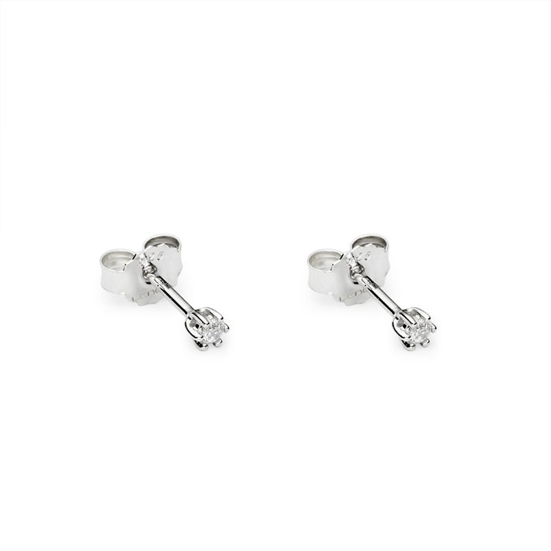 EarringsSilver 925/000Rhodium platedCz