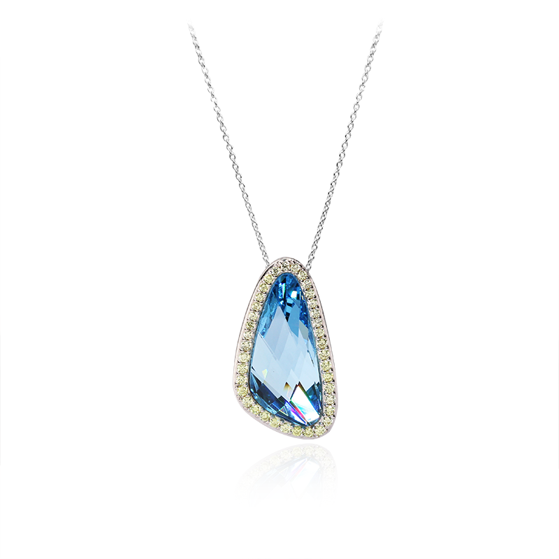 Swarovski kristal23 x 10 mm