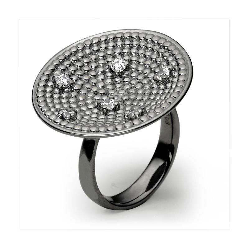 Prstan,srebro 925/000rodiniranoCZ 2,50 mm - 6x