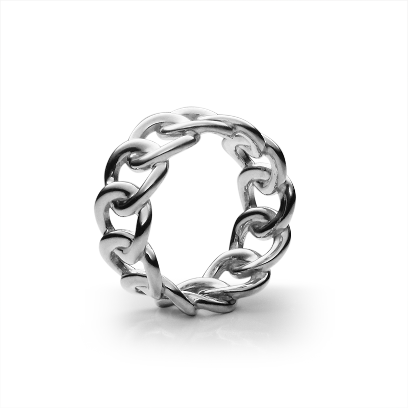 Ringsilver 925/000 rhodium plated