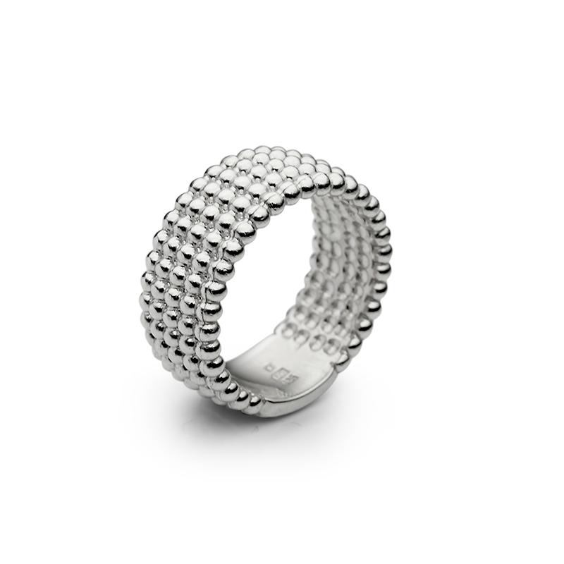 RingSilver 925/000Rhodium plated