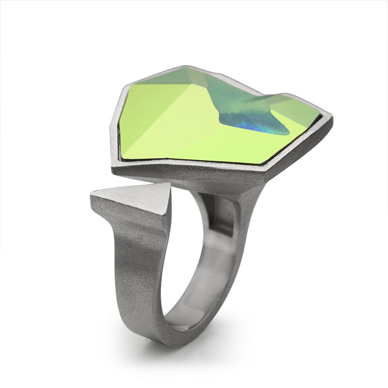 PrstenSrebro 925|000RodiniranoSwarovski kristal