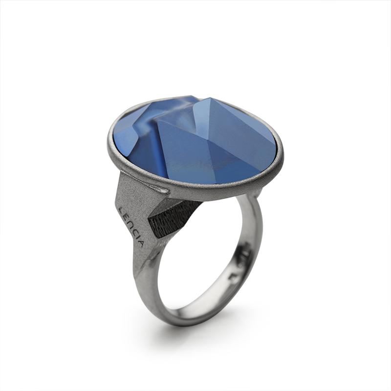 PrstanSrebro 925|000RodiniranoSwarovski kristal