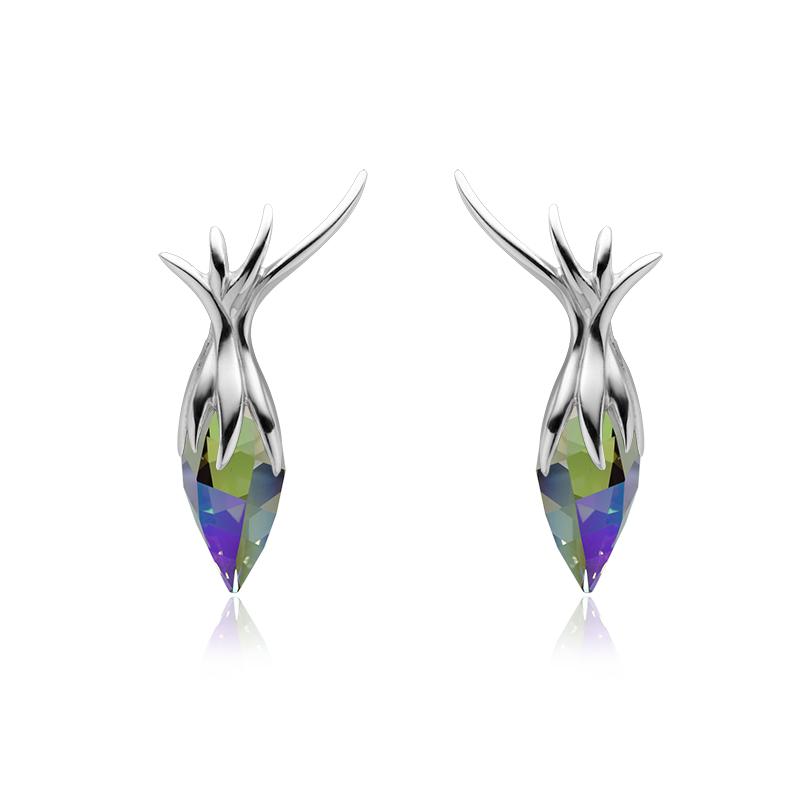 UhaniSrebro 925/000RodiniranoSwarovski kristal