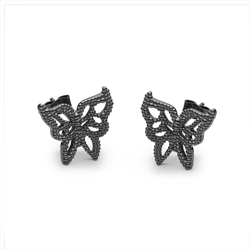 EarringsSilver 925/000Black rhodium plated