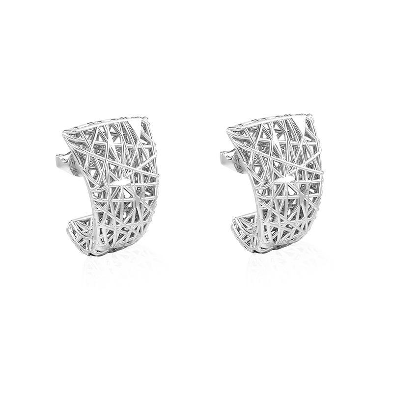EarringsSilver 925/000Rhodium plated