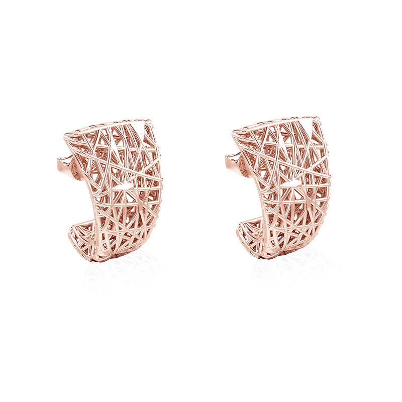EarringsSilver 925/000Rose gold plating