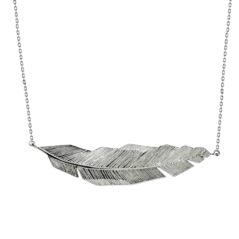 Necklace silver 925/000 rhodium plated