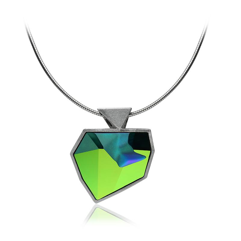 NecklaceSilver 925|000Rhodium platedSwarovski crystal