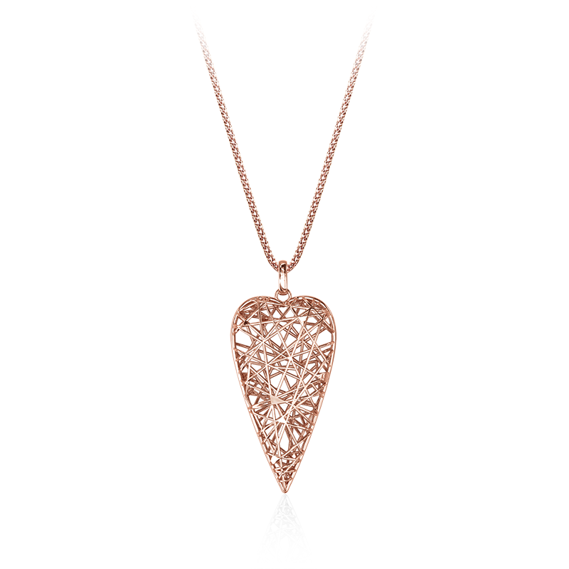 NecklaceSilver 925/000Rose gold plating