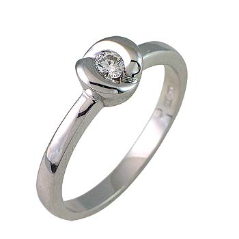 diamond 0,13 ct -1x