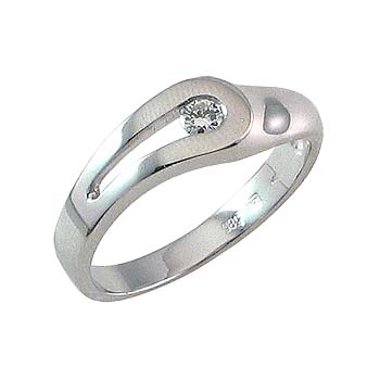 diamant 0,10 ct - 1x