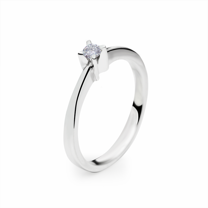 diamant 0,08 ct - 1x