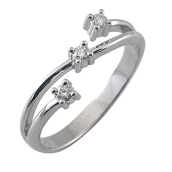 diamant 0,03 ct - 3x