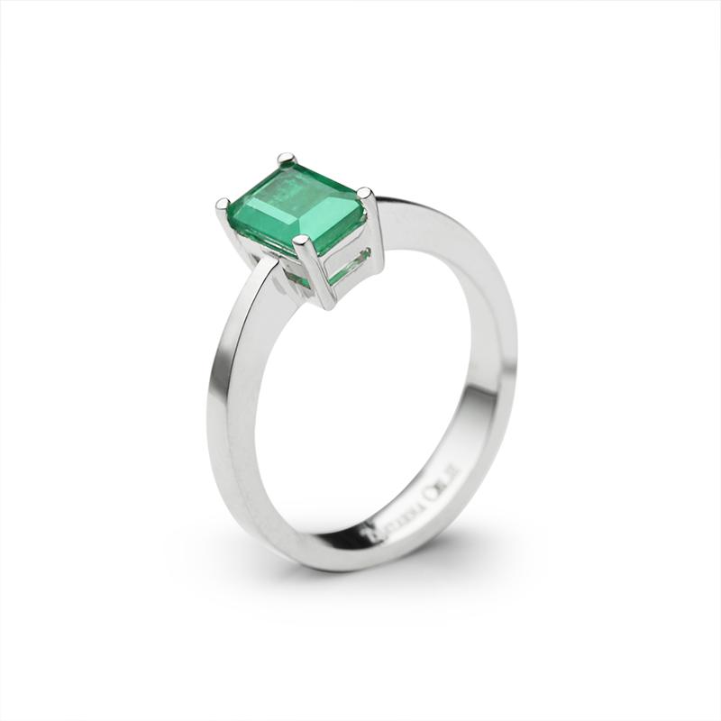 Pravokotni smaragd - 1X