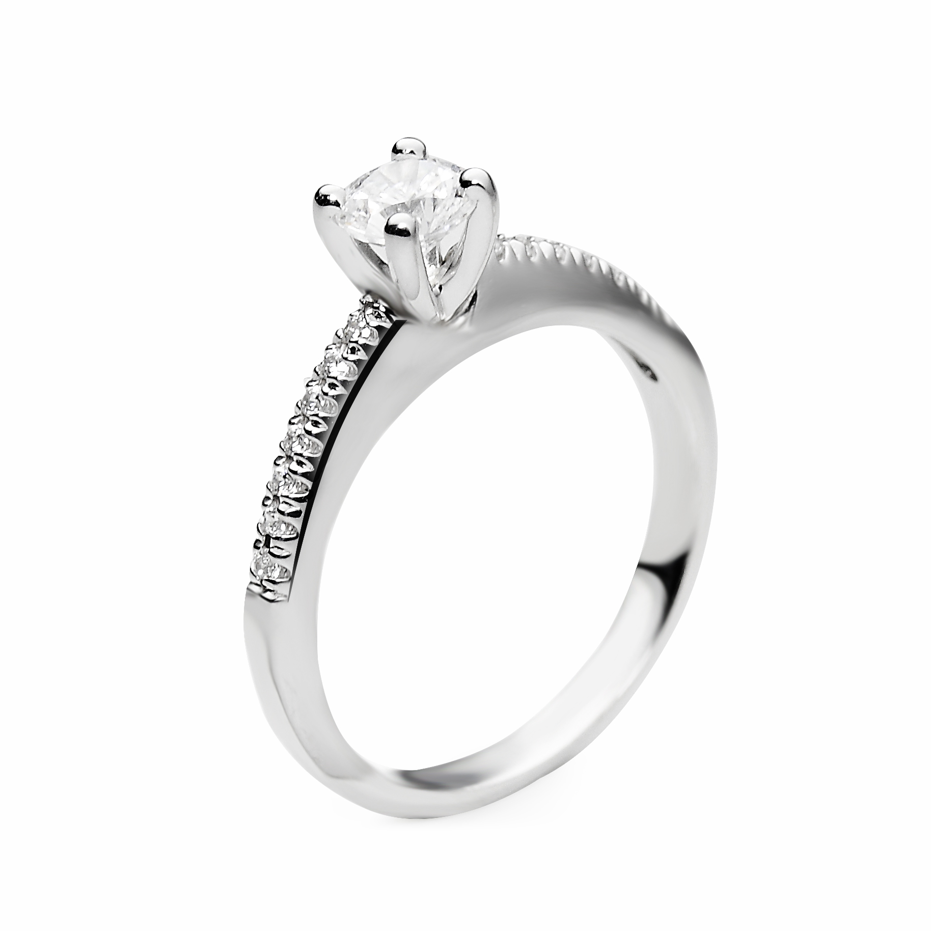 ring outlet halo bridal rings engagement collection cushion pin small diamond romance