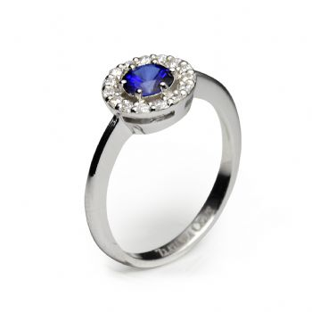 diamond 0,01 ct - 15 x; blue sapphire, emerald or ruby fi 5,00 mm - 1 x