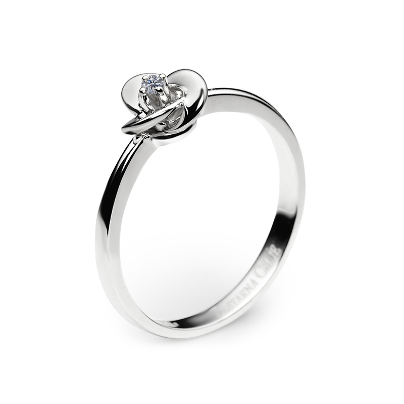 diamant 0,02 ct - 1 x