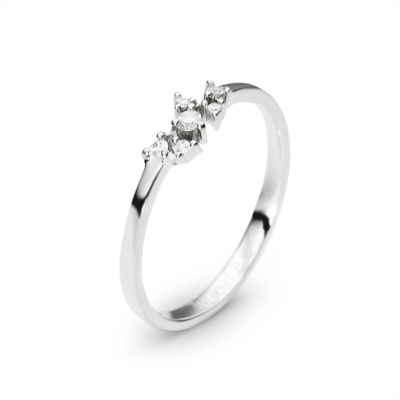 diamanti 0,005 ct - 3x; 0,01 ct - 2x; 0,02 ct - 1x