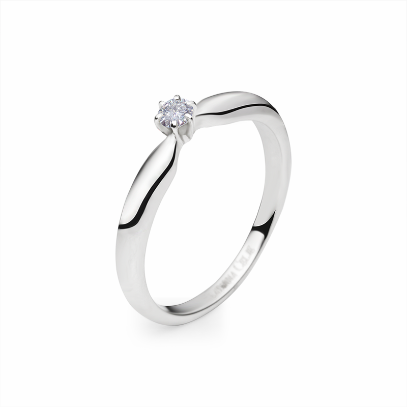 diamond 0,10 ct - 1 x