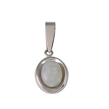 opal oval 8x6 mm - 1x
