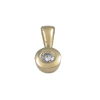 diamant 0,20 ct - 1x