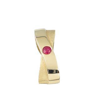 modri safir ali rubin fi 2,5 mm - 1x