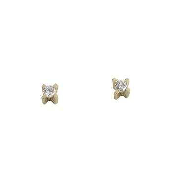 diamant 0,08 ct - 2 x