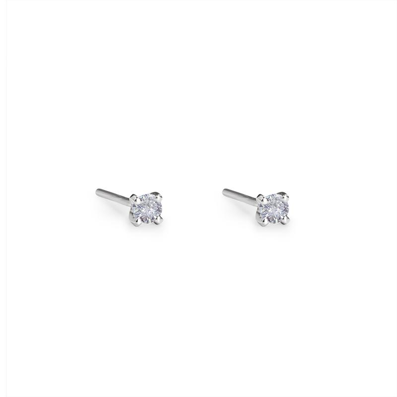 diamant 0,10 ct - 2 x