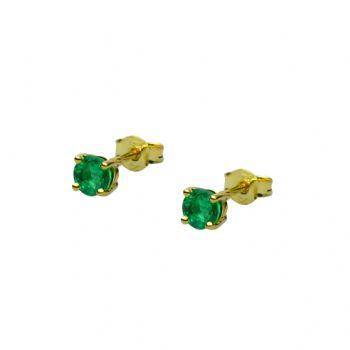 smaragdfi 4 mm - 2 x
