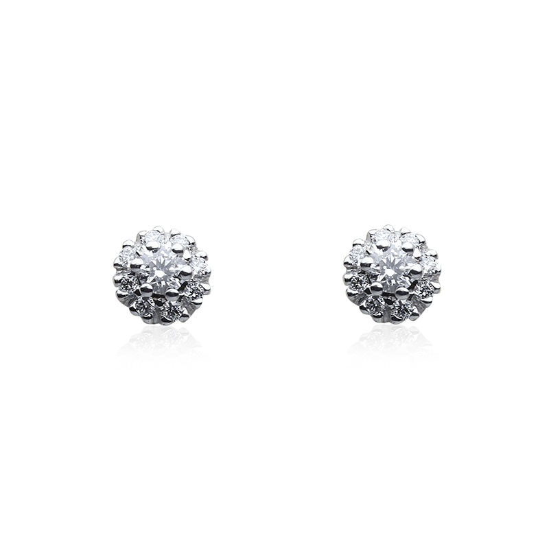 Diamant 0,05 ct - 2 x; 0,005 ct - 16 x