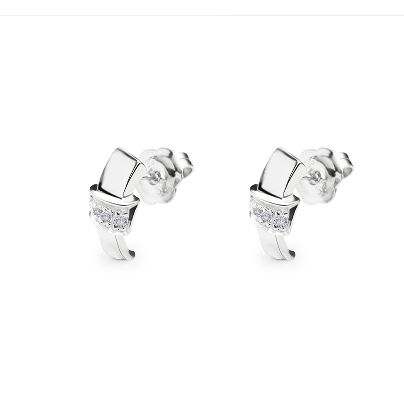 Diamond 0,002 ct - 2 x; 0,01 ct - 2 x; 0,005 ct - 4 x