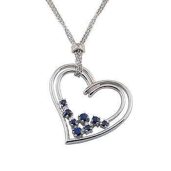diamond0,005 ct - 4 x; blue sapphirefi 2 mm - 4 x; fi 2,5 mm - 2 x; fi 3 mm - 2 x