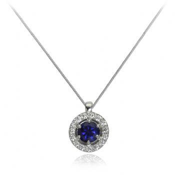 diamant 0,01 ct - 15x, modri safir, smaragd ali rubin fi 5,00 mm - 1x