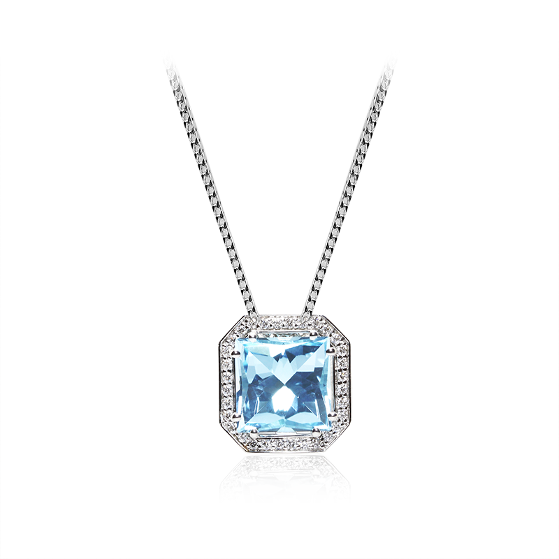 Diamant 0,005 ct - 74 x, 0,01 ct - 8 x; citrinali modri topaz 10 x 10 mm - 1 x